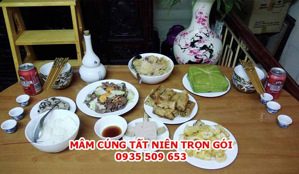 Dịch vụ đồ cúng trọn gói - mâm cúng tất niên cuối năm tại Đà Nẵng